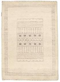 Gabbeh Loribaft Tapis 89X125 Moderne Fait Main Beige (Laine, Inde)