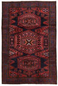Wiss Tapis 208X312 D'orient Fait Main Rouge Foncé/Marron Foncé (Laine, Perse/Iran)