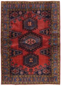 Wiss Patina Tapis 173X239 D'orient Fait Main Rouge Foncé/Noir (Laine, Perse/Iran)
