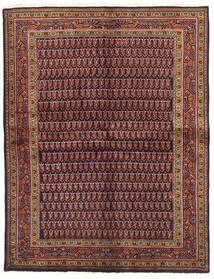 Wiss Tapis 159X206 D'orient Fait Main Rouge Foncé/Bleu Foncé (Laine, Perse/Iran)
