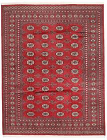 Pakistan Boukhara 2Ply Tapis 198X252 D'orient Fait Main Rouge/Rouge Foncé (Laine, Pakistan)