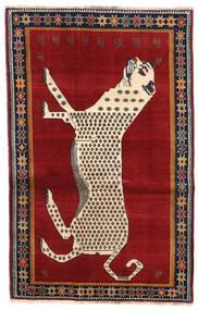 Ghashghaï Tapis 122X192 D'orient Fait Main Rouille/Rouge/Rouge (Laine, Perse/Iran)