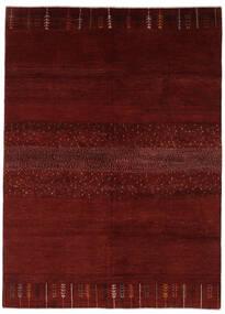 Gabbeh Persan Tapis 169X230 Moderne Fait Main Rouge/Marron Foncé (Laine, Perse/Iran)