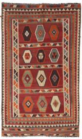 Kilim Vintage Tapis 133X232 D'orient Tissé À La Main Rouge Foncé/Marron Clair/Marron Foncé (Laine, Perse/Iran)