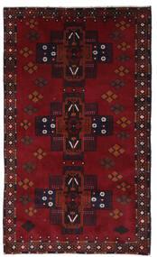 Baloutche Tapis 110X198 D'orient Fait Main Rouge Foncé (Laine, Afghanistan)