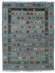 Kilim Nimbaft Tapis 150X196 Moderne Tissé À La Main Bleu/Gris Clair (Laine, Afghanistan)