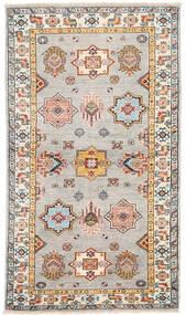 Kazak Ariana Tapis 90X157 Moderne Fait Main Gris Clair/Marron Foncé (Laine, Afghanistan)