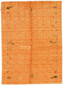 Gabbeh Loom Frame - Secondaire Tapis 140X200 Moderne Rouge/Orange/Rouille/Rouge (Laine, Inde)