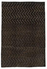 Moroccan Berber - Afghanistan Tapis 197X285 Moderne Fait Main Noir (Laine, Afghanistan)