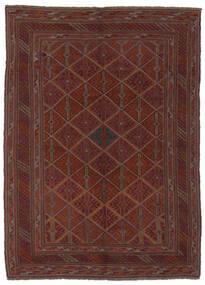 Kilim Golbarjasta Tapis 140X188 D'orient Tissé À La Main Noir (Laine, Afghanistan)