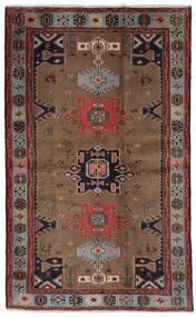 Hamadan Tapis 121X191 D'orient Fait Main Marron Foncé/Noir (Laine, Perse/Iran)