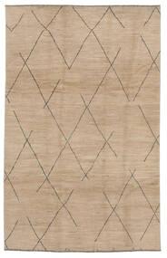 Moroccan Berber - Afghanistan Tapis 192X297 Moderne Fait Main Marron/Marron Clair (Laine, Afghanistan)