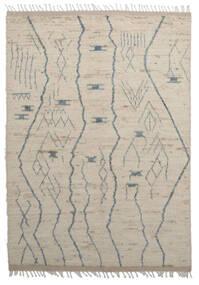 Moroccan Berber - Afghanistan Tapis 179X255 Moderne Fait Main Marron Clair/Gris Clair (Laine, Afghanistan)