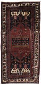 Gholtogh Tapis 160X335 D'orient Fait Main Tapis Couloir Noir/Marron Foncé (Laine, Perse/Iran)