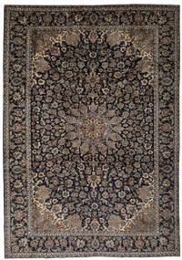 Najafabad Tapis 263X387 D'orient Fait Main Noir/Marron Foncé Grand (Laine, Perse/Iran)