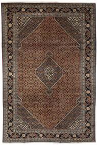 Ardabil Tapis 193X294 D'orient Fait Main Noir/Marron Foncé (Laine, Perse/Iran)