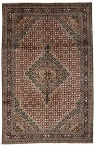Ardabil Tapis 197X302 D'orient Fait Main Marron Foncé/Noir (Laine, Perse/Iran)