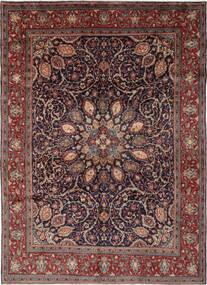 Mahal Tapis 270X364 D'orient Fait Main Noir/Marron Foncé Grand (Laine, Perse/Iran)