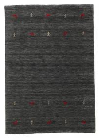 Gabbeh Loom Two Lines - Secondaire Tapis 140X200 Moderne Noir/Beige (Laine, Inde)