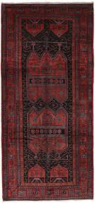 Gholtogh Tapis 152X330 D'orient Fait Main Tapis Couloir Noir/Rouge Foncé (Laine, Perse/Iran)