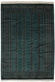 Pakistan Boukhara 2Ply Tapis 190X270 D'orient Fait Main Noir (Laine, Pakistan)