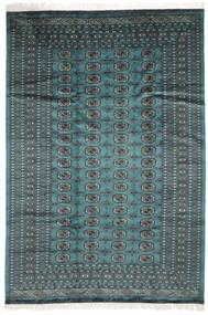 Pakistan Boukhara 2Ply Tapis 183X264 D'orient Fait Main Turquoise Foncé/Noir (Laine, Pakistan)