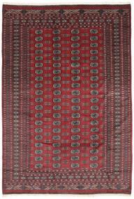 Pakistan Boukhara 2Ply Tapis 184X270 D'orient Fait Main Noir/Rouge Foncé (Laine, Pakistan)
