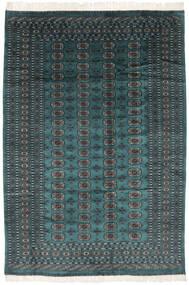 Pakistan Boukhara 2Ply Tapis 190X277 D'orient Fait Main Noir/Turquoise Foncé (Laine, Pakistan)