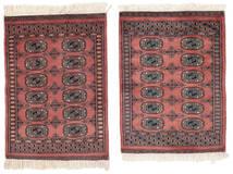Pakistan Boukhara 2Ply Tapis 61X85 D'orient Fait Main Marron Foncé/Noir (Laine, Pakistan)