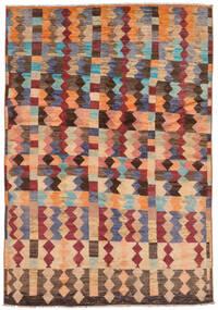 Moroccan Berber - Afghanistan Tapis 174X256 Moderne Fait Main Marron/Marron Foncé (Laine, Afghanistan)