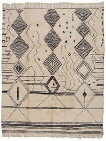 Berber Moroccan - Mid Atlas Tapis 279X341 Moderne Fait Main Marron Clair/Gris Foncé Grand (Laine, Maroc)