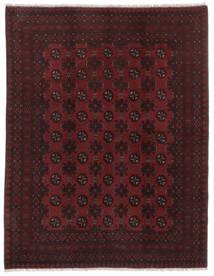 Afghan Tapis 146X188 D'orient Fait Main Noir (Laine, Afghanistan)