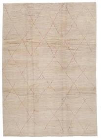 Moroccan Berber - Afghanistan Tapis 243X341 Moderne Fait Main Marron Clair/Marron (Laine, Afghanistan)