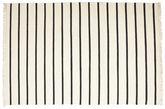 Dhurrie Stripe - Blanc / Noir