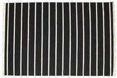 Dhurrie Stripe - Noir / Blanc