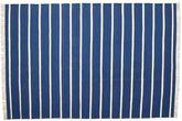 Dhurrie Stripe - Bleu foncé