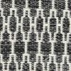 Kilim Long Stitch - Noir / Gris